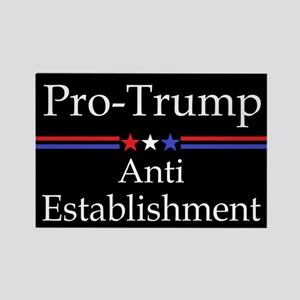 Pro Trump Rectangle Magnet