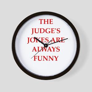 judge Wall Clock