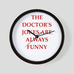 doctor Wall Clock