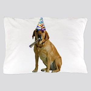 Yellow Lab Party Pillow Case