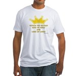 King Of Kings Fitted T-Shirt