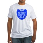 YHVH Is My Shield Fitted T-Shirt