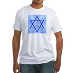 Star of Jacob Fitted T-Shirt