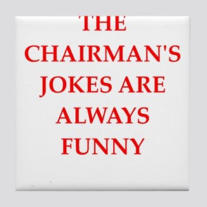 chairman Tile Coaster
