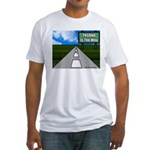 Yeshua Is The Way Fitted T-Shirt