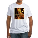 Our God Is A Consuming Fire Fitted T-Shirt