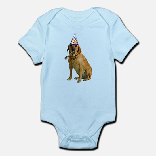 Yellow Lab Party Body Suit