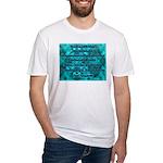 Isaiah - Yeshayahu 9:6 Fitted T-Shirt