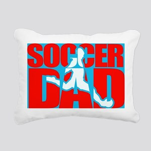Soccer Dad Rectangular Canvas Pillow
