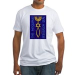 The Messianic Jerusalem Seal Fitted T-Shirt
