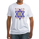 Lion Of The Tribe Of Judah Fitted T-Shirt
