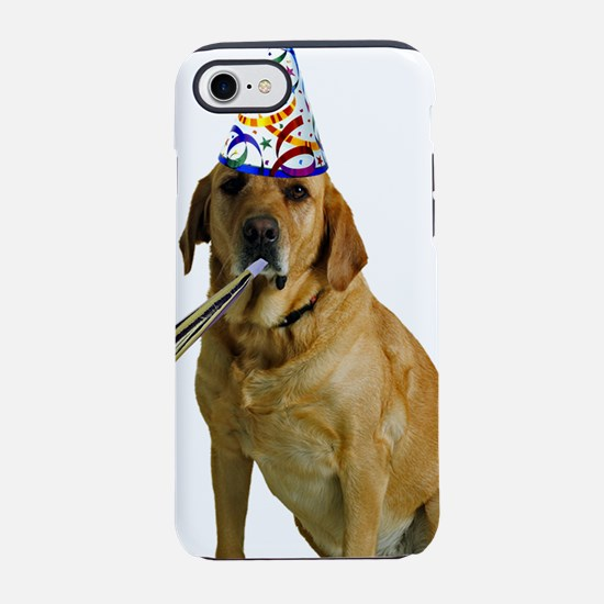 Yellow Lab Party iPhone 8/7 Tough Case