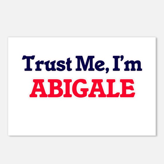 Trust Me, I'm Abigale Postcards (Package of 8)