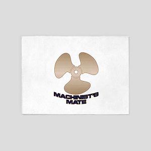 Machinist's Mate 5'x7'Area Rug