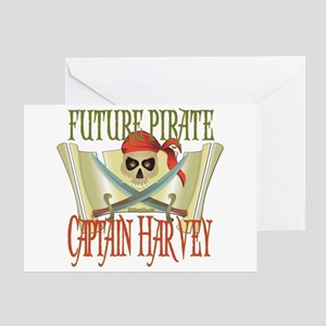 Captain Harvey Greeting Card