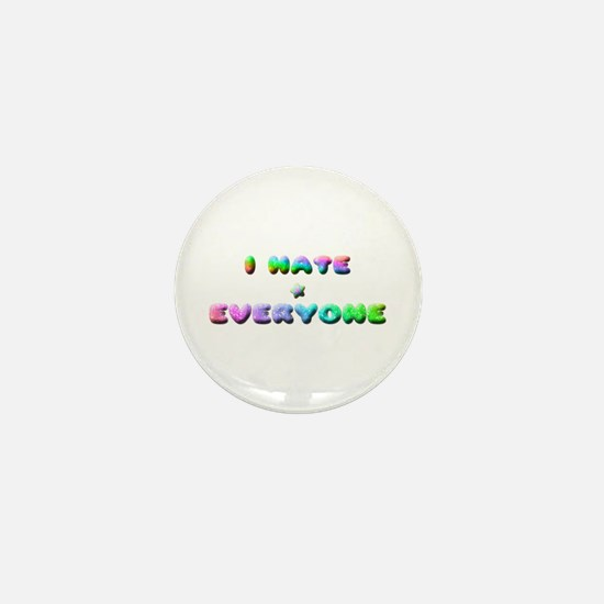 Funny Misanthropic Mini Button