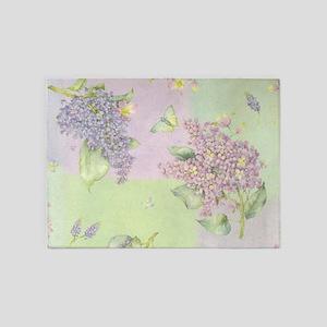 Lilacs 5'x7'Area Rug