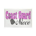Coast Guard Niece Rectangle Magnet (100 pack)