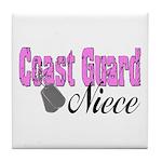Coast Guard Niece Tile Coaster