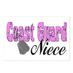 Coast Guard Niece Postcards (Package of 8)
