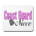 Coast Guard Niece Mousepad