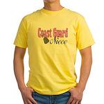 Coast Guard Niece Yellow T-Shirt