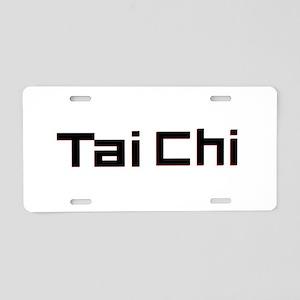 Tai Chi Aluminum License Plate