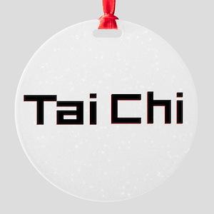 Tai Chi Round Ornament