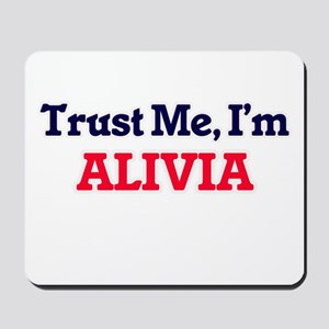 Trust Me, I'm Alivia Mousepad