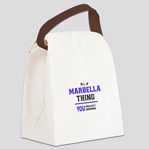 It's MARBELLA thing, you wouldn't Canvas Lunch Bag