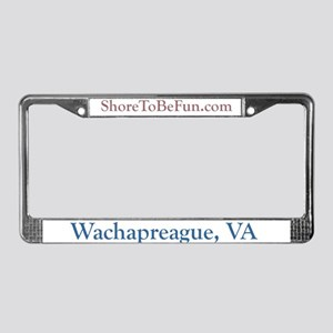 Wachapreague VA License Plate Frame
