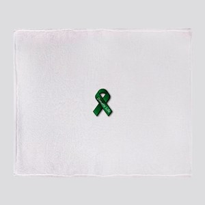 Donate Life Throw Blanket