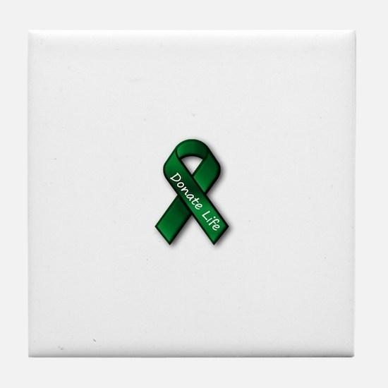 Donate Life Tile Coaster