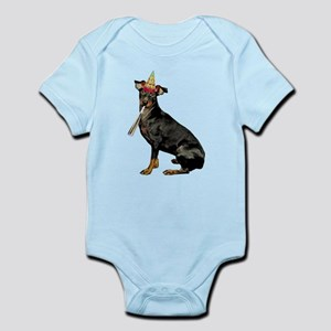 Manchester Terrier Birthday Body Suit