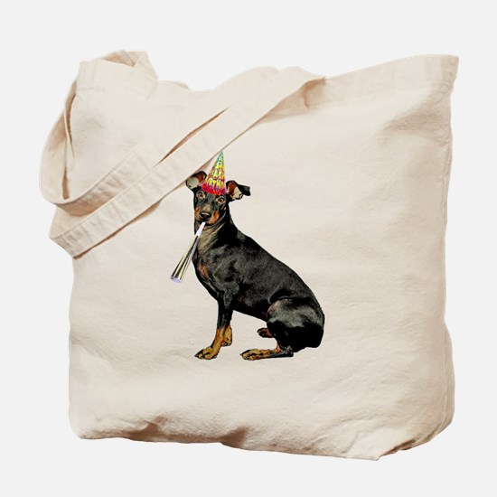 Manchester Terrier Birthday Tote Bag