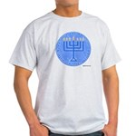 Yeshua, The Light Of The World Ash Grey T-Shirt
