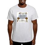 Hebrews 10:7 Ash Grey T-Shirt