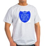 YHVH Is My Shield Ash Grey T-Shirt