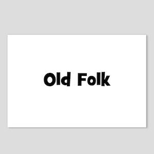 Old Folk Postcards (Package of 8)