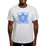 Star of Jacob Ash Grey T-Shirt
