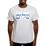 Shalom Ash Grey T-Shirt