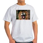 Yeshua, The Lion Of Judah Ash Grey T-Shirt