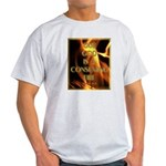 Our God Is A Consuming Fire Ash Grey T-Shirt