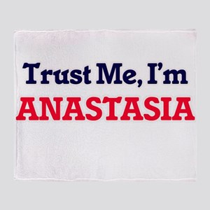 Trust Me, I'm Anastasia Throw Blanket