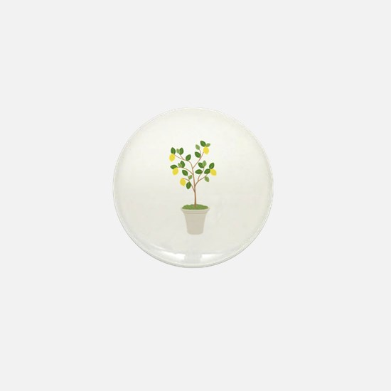 Lemon Tree Mini Button