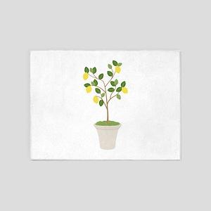 Lemon Tree 5'x7'Area Rug