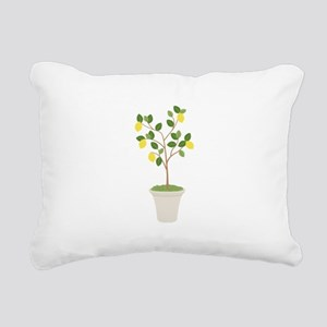Lemon Tree Rectangular Canvas Pillow
