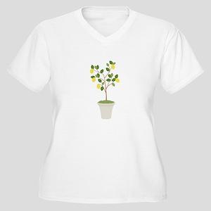 Lemon Tree Plus Size T-Shirt