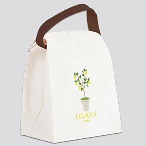Lemons Canvas Lunch Bag