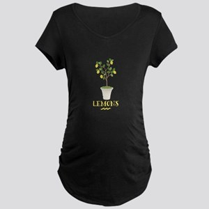 Lemons Maternity T-Shirt